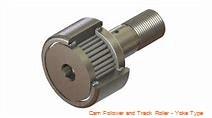PCI VTRY-5.00  Cam Follower and Track Roller - Yoke Type