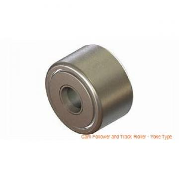 CONSOLIDATED BEARING NA-2206-2RSX  Cam Follower and Track Roller - Yoke Type