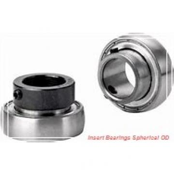 28.575 mm x 62 mm x 23.8 mm  SKF YET 206-102  Insert Bearings Spherical OD